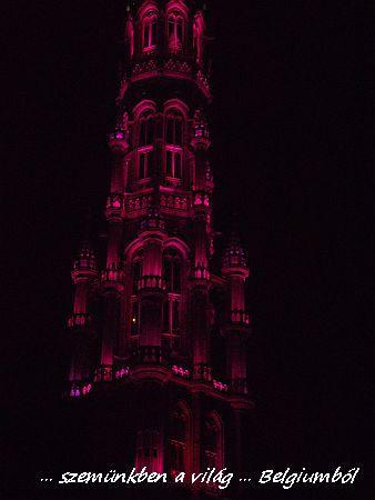 városháza fényei