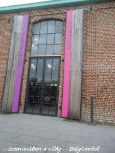 a muzeum bejárata